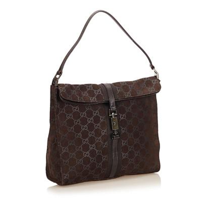 Gucci Suede Jackie Shoulder tas