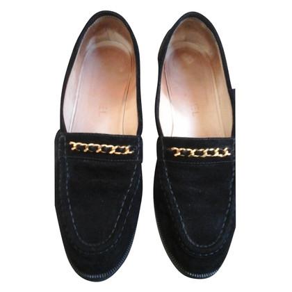 Chanel Loafer aus Wildleder