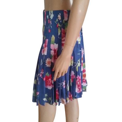 Valentino Pleated-skirt made of silk
