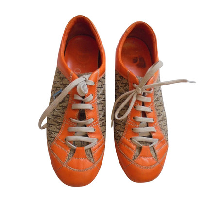 Christian Dior Sneakers in Orange