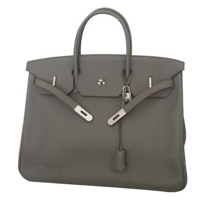 """Hermès """"Birkin Bag 40"""" in Taupe"""