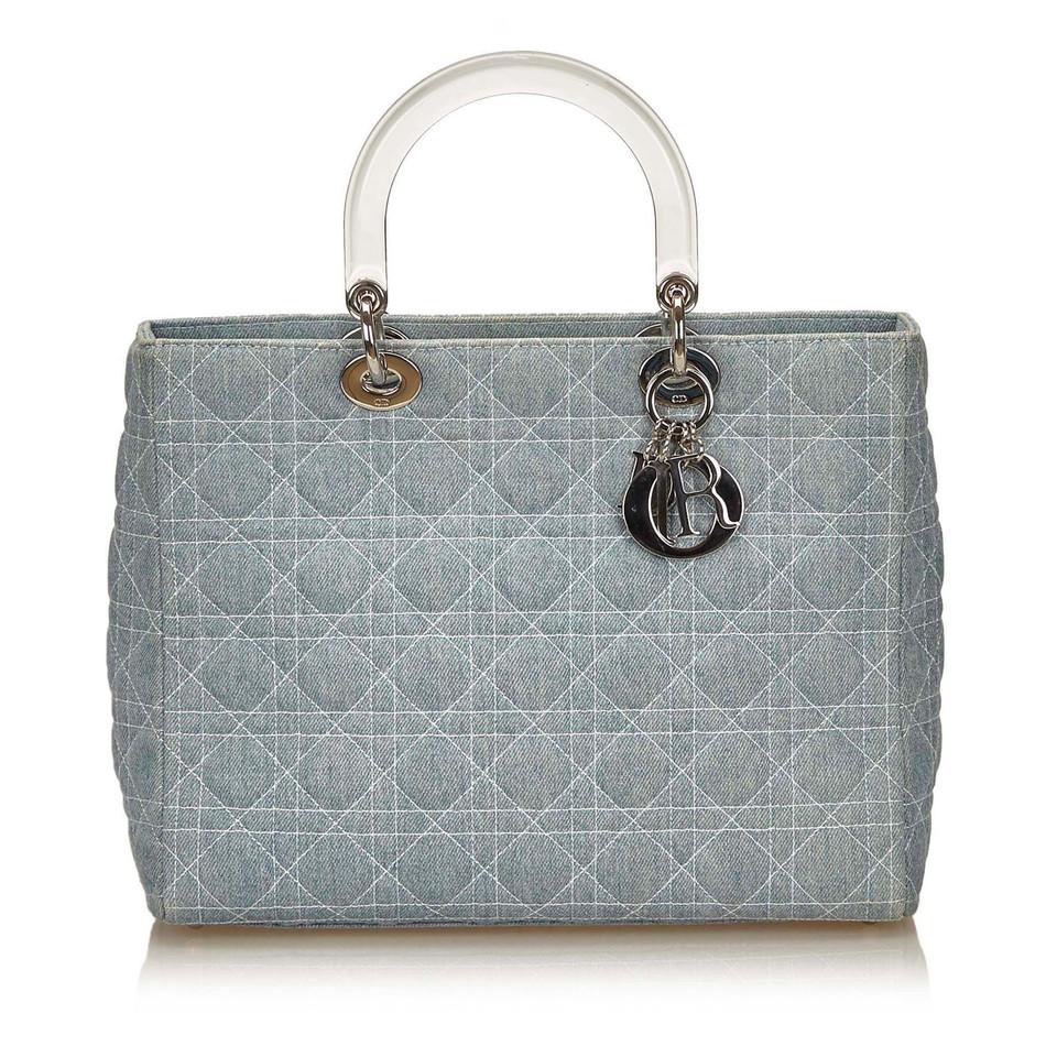 Christian Dior Denim Lady Dior