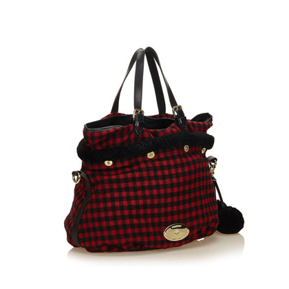 Mulberry Wool Tote Bag
