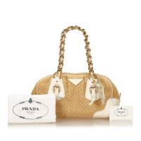 Prada Straw Shoulder bag