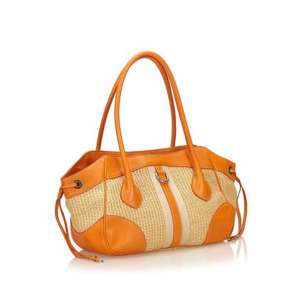 Prada Stroh Tote Bag