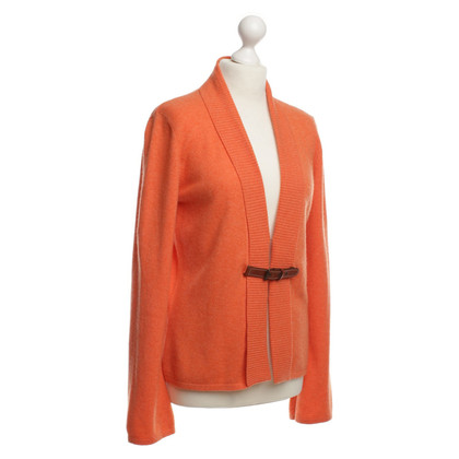 Brunello Cucinelli Kaschmir-Pullover in Orange