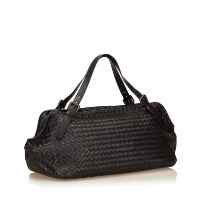 Bottega Veneta Intrecciato Leather Duffel Bag
