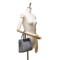 Céline Macadam Jacquard Handbag