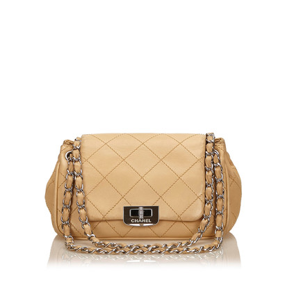 Chanel Leather Reissue Choco Bar Flap Bag