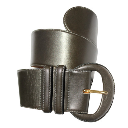 Donna Karan leather belt