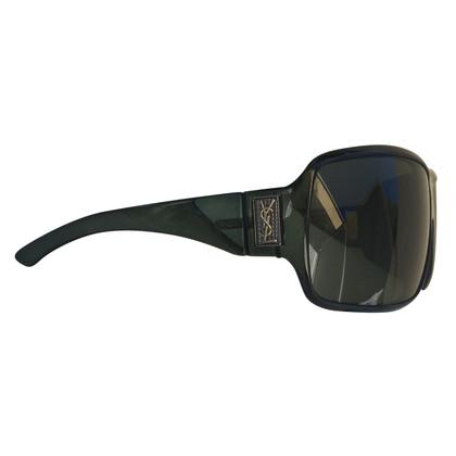 Yves Saint Laurent Sonnenbrille in Dunkelgrün