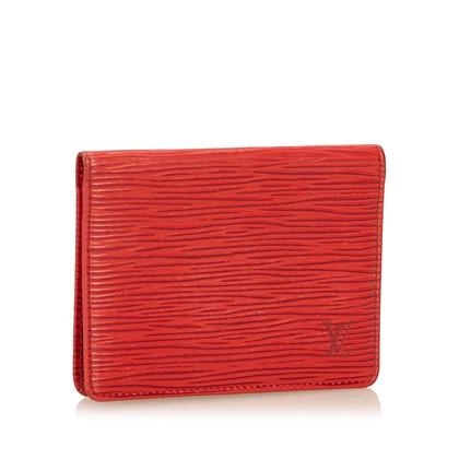 Louis Vuitton Epi Porte 2 Cartes Vertical
