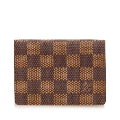 Louis Vuitton Titolare della carta Damier Ebene