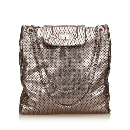 Chanel Large Drill Schultertasche