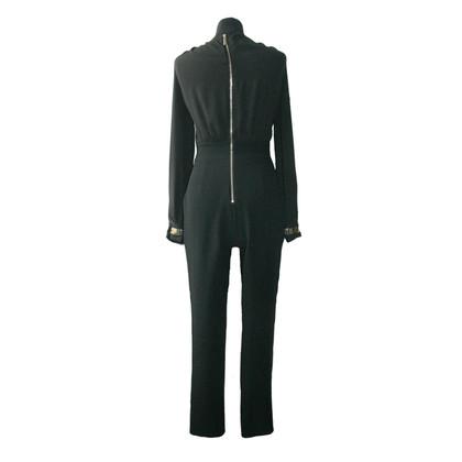 Elisabetta Franchi zwart Jumpsuit