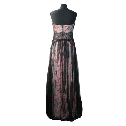 Marchesa Floral tulle dress