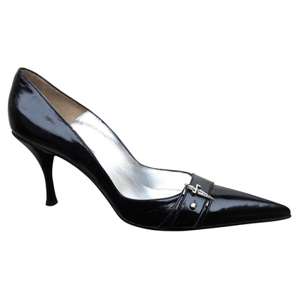 Cesare Paciotti Lackleder-Pumps