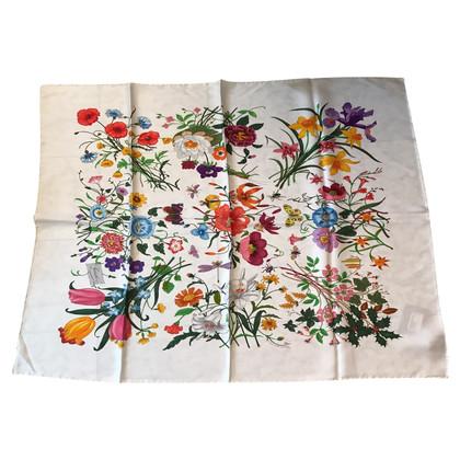 Gucci Zijden sjaal flora