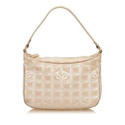 Chanel Reise-Linie Jacquard-Handtasche