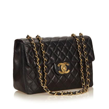 Chanel Maxi Lammfell Klassische Klappe