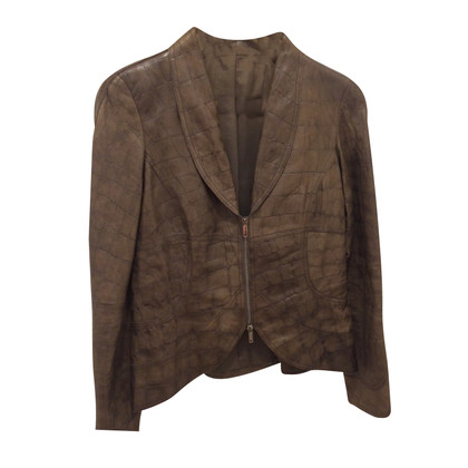 Armani giacca di pelle