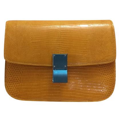 "Céline ""Classic Box Bag"" hagedissenleer"