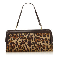 Céline Animal Print Clutch