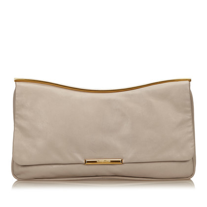 Miu Miu Leather Clutch Bag