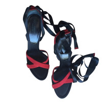 Dolce & Gabbana suède sandalen
