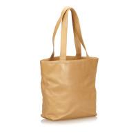 Chanel Leren schouder tas