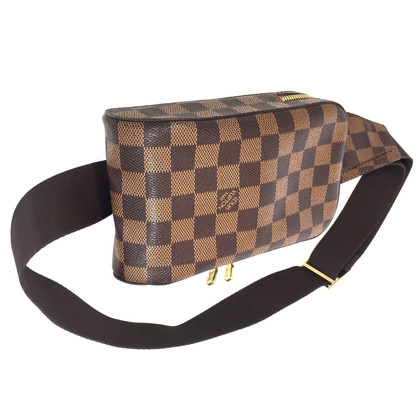"Louis Vuitton ""Geronimo Damier Ebene Canvas"""