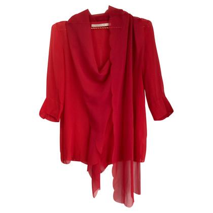 Schumacher Silk blouse in red
