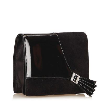 Gucci Suade clutch tas