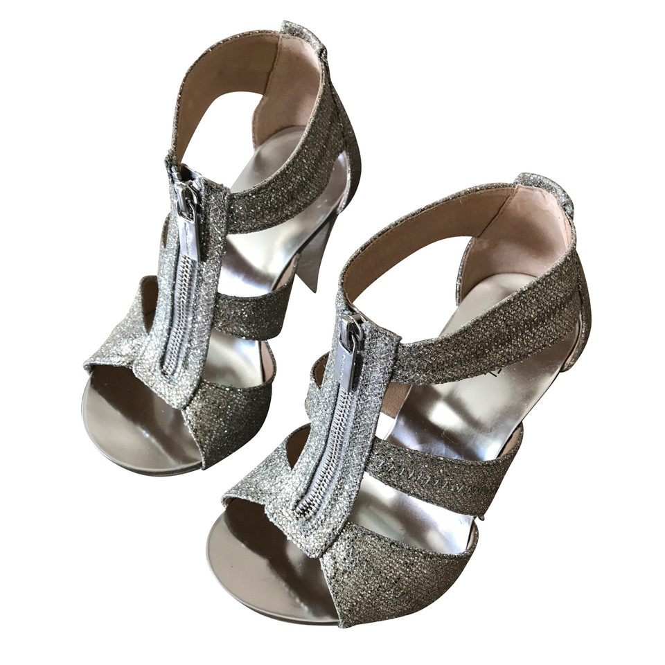 michael kors sandaletten in silber second hand michael kors sandaletten in silber gebraucht. Black Bedroom Furniture Sets. Home Design Ideas
