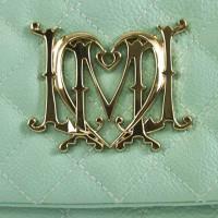 "Moschino Love ""Sky Blue Diamond Flap Bag"""