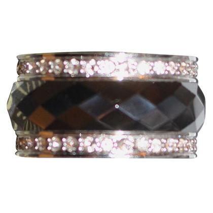 Armani Ring with rhinestone