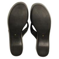 Prada Toe seamer with wedge heel