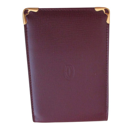 Cartier notepad