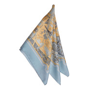 Hermès Patterned Silk Scarf