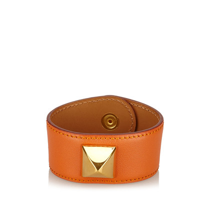 Hermès Medaille Leren Armband