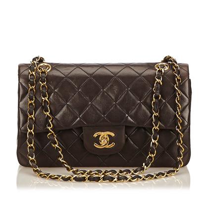 Chanel Klassische kleine Lammfell-Doppelklappe