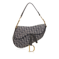 Christian Dior Diorissimo Jacquard Saddle Bag