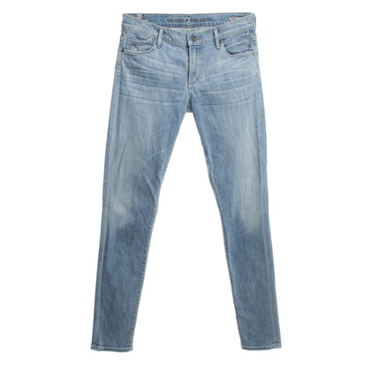 Citizens of Humanity Stonewashed Jeans in Blau