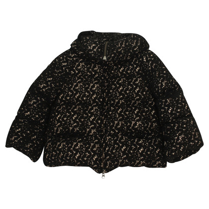 Patrizia Pepe Quilted jacket in black