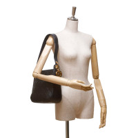 Christian Dior Leather Cannage Shoulder Bag