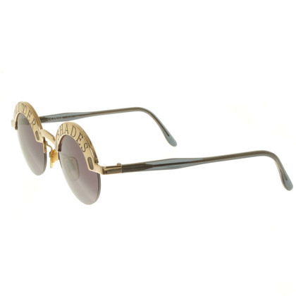 Valentino Sunglasses in black / gold