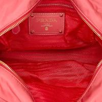 Prada Mini Saffiano Nylon Handbag