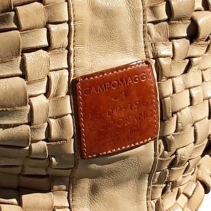 Campomaggi Handtasche mit Ledergeflecht