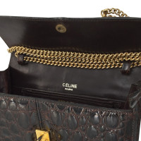 Céline Crocodile leather bag