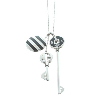 Armani Necklace with pendants in the form of key